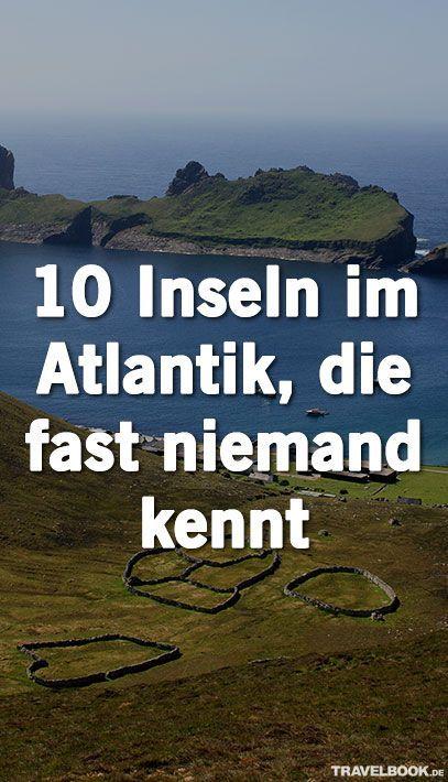 Haben Sie schon mal von Hans Island gehört? Oder von St. Kilda? Diese und noch viele weitere unbekannte Inseln liegen im Atlantischen Ozean – und sind mal Schauplatz eines düsteren Geheimisses, mal Heimat einer riesigen Seevogelkolonie, mal schlicht geologische Launen der Natur. TRAVELBOOK zeigt zehn unbekannte Atlantik-Inseln.
