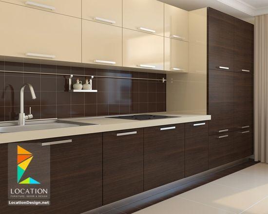 صور مطابخ مودرن 2017 2018 بافكار جديدة تجعلها اكثر اتساعا لوكشين ديزين نت Kitchen Interior Design Modern Kitchen Room Design Latest Kitchen Designs