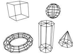 Geometrische vormen zijn alle vormen, die je met behulp van passer en liniaal kunt construeren, zoals het vierkant (de rechthoek), de driehoek en de cirkel. Geometrische vormen zijn vooral in de architectuur altijd veel toegepast en dat is heel verklaarbaar: ten eerste zijn ze goed berekenbaar en ten tweede moeten ruimtes en verdiepingen op elkaar aansluiten en dat gaat nu eenmaal het gemakkelijkst met geometrische vormen.