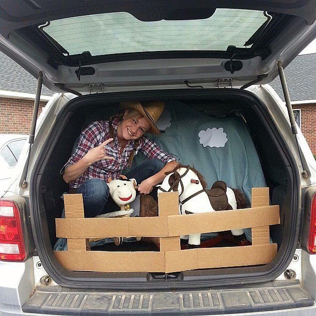 25 best Farm trunk or treat images on Pinterest Halloween ideas - halloween decorations for your car