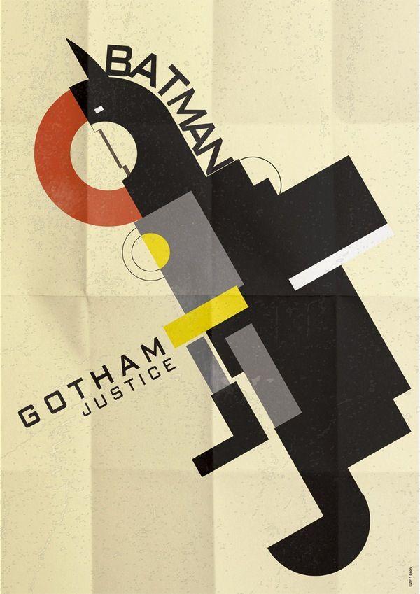 Modern Batman poster