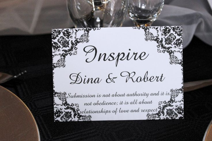 With each table name, each couple got a unique love quote / poem just for them. This took a lot of research.