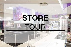 Touring one of our Galerie de Beaute retail shops!