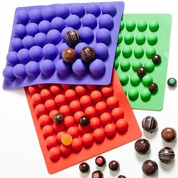silicone ganache truffle molds