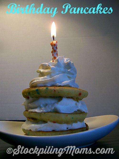 Best 25 Birthday pancakes ideas on Pinterest Birthday breakfast