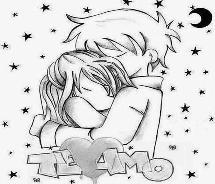 Dibujos Chidos De Amor En Imagenes Para Colorear Gratis Dibujos De Amor Dibujos Arte Del Bosquejo