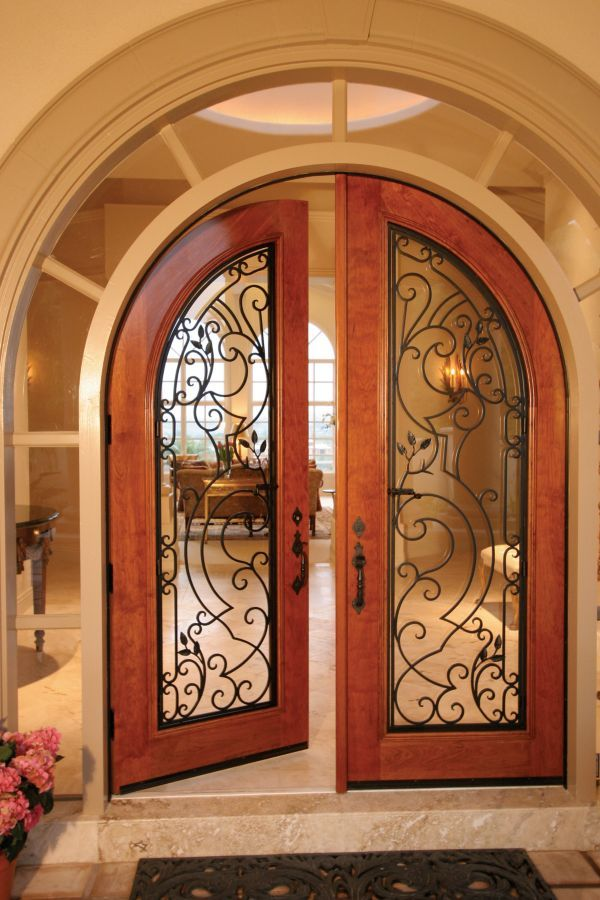 This Door Completed By Grand Entrances Makes For An