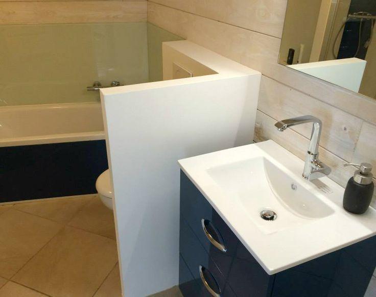 meuble salle de bain bleu comete