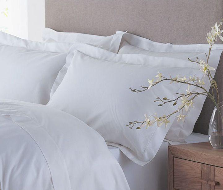 Linge de lit en coton biologique 120 fils