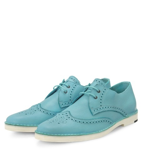 Pierre Hardy Wingtip 'Light Blue' Shoes