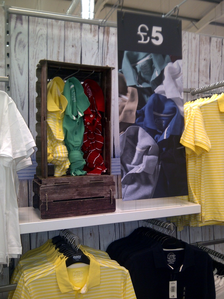 45 best images about store display on pinterest jean for Portable t shirt display