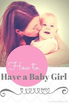 How to Have a Baby Girl - ideas to increase your chance of getting pregnant with a baby girl.