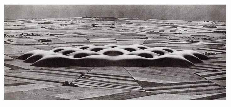 Large-scale envelope for agricultural use (1959) | Frei Otto