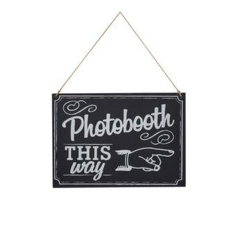 Photobooth Schild - Online-Shop Maison Mariée