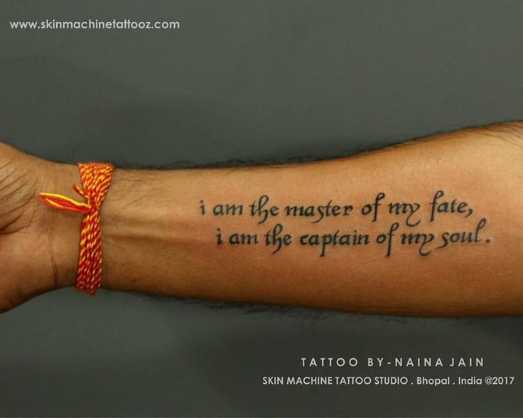 Quote for a Warrior !   Tattoo done by Naina Jain @nains_tattoos   At - SKIN MACHINE TATTOO STUDIO. Bhopal. India  Hope you guys like this too   Email for bookings- skinmachineteam@gmail.com Contact link in bio   www.skinmachinetattooz.com  #tattoos #tatt