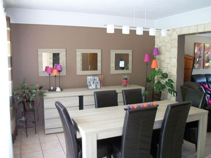 Decoration Moderne Idee Couleur Mur Salon Avec Id E Peinture ...