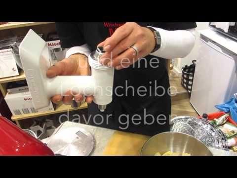 WEIHNACHTSBÄCKEREI # 6 Spritzgebäck Kitchenaid – YouTube