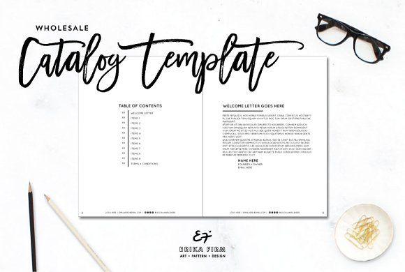 InDesign Wholesale Catalog Template @creativework247