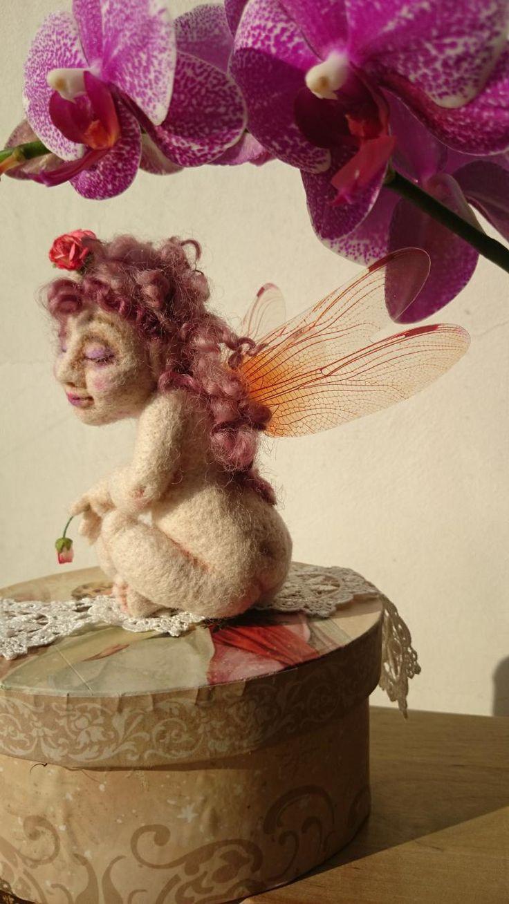 Валяные чудеса: создание шерстяной феи - Ярмарка Мастеров - ручная работа, handmade