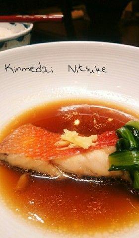煮タレでご飯がすすむ✾金目鯛の煮付け by ✱ゆっこ✱ [クックパッド ...