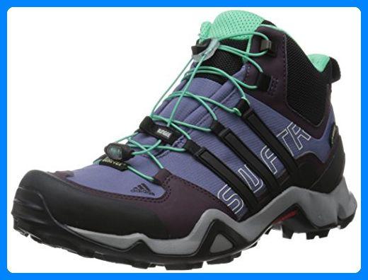 Adidas Schuhe Terrex Swift R Mid GTX Women - super purple, Schwarz, 38 EU - Stiefel für frauen (*Partner-Link)