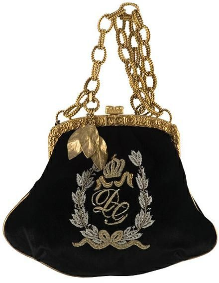 Beautiful retro style black velvet Dolce & Gabana. NEVER AND WE MEAN NEVER GIVE AWAY A PURSE!!