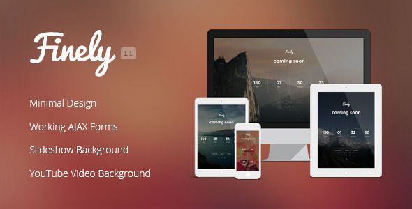 Finely - Responsive Under Construction Template