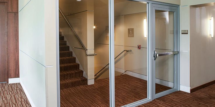 Fire Rated Glass Door Maybe Without The Crash Bar Kid Theme Ideas Fire Doors Fire Rated