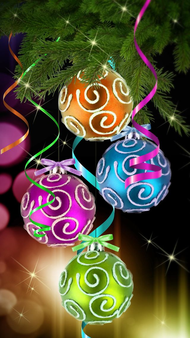 131 curated Christmas Cell Phone Wallpaper ideas by ... Christmas Ornaments Iphone Wallpaper