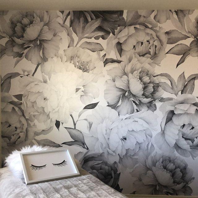 Removable Wallpaper Self Adhesive Wallpaper Gold And Black Etsy In 2020 Self Adhesive Wallpaper Removable Wallpaper Wall Painting