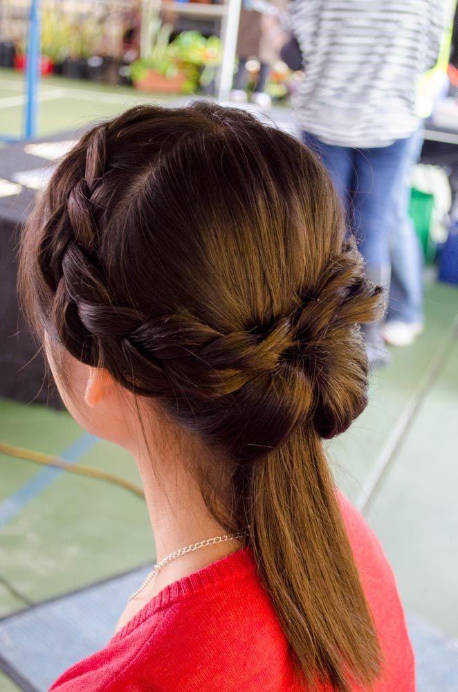 Dutch Braid Twist- Formal or wedding hair style