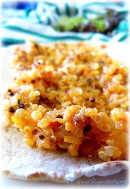 Quirky Cooking: Mexican Quinoa. A bit like a tomato based risotto