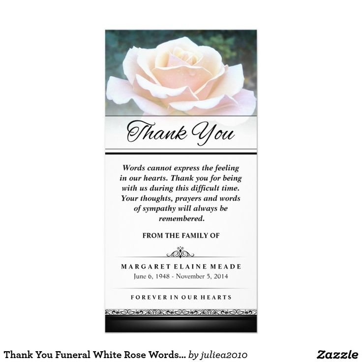 42 best Memorial Thank You Cards images on Pinterest Butterfly - death announcement cards free