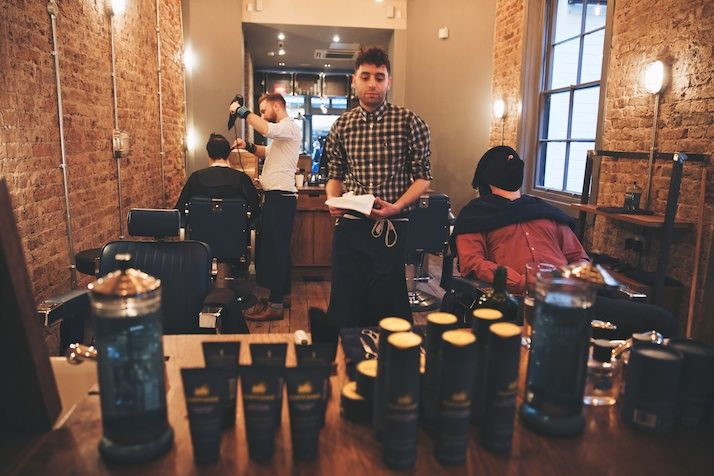 The counties need to take a hint and add more swanky men's shops like this barber shop.   ruffians_covent_garden_steve_booker_3