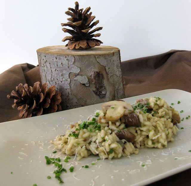 Risotto ai funghi, Pilzrisotto, Risotto with mushrooms http://kebohoming.blogspot.it
