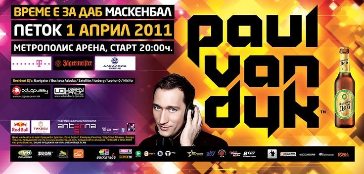 Billboard for Paul van Dyk (2011)