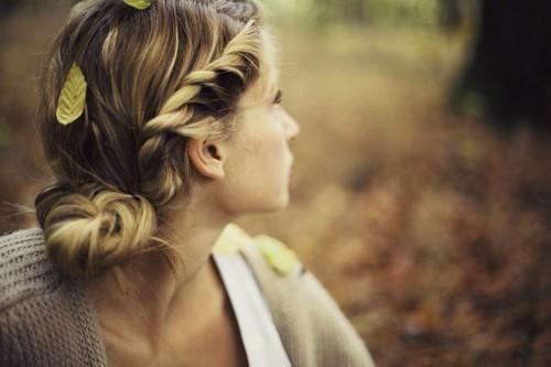 cute fall hairstyle