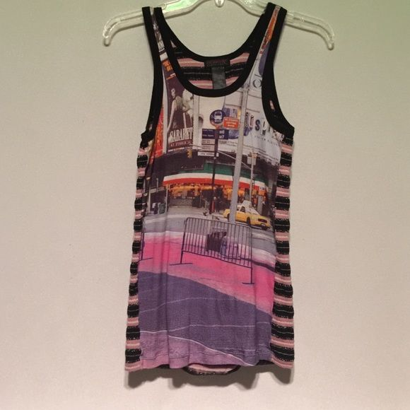 Custo Barcelona t shirt , NYC Times Square A classic. Custo Barcelona Tops Tank Tops