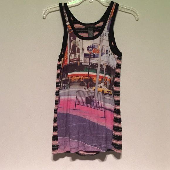 Custo Barcelona t shirt , NYC Times Square A classic. Custo Barcelona Tops Tank Tops