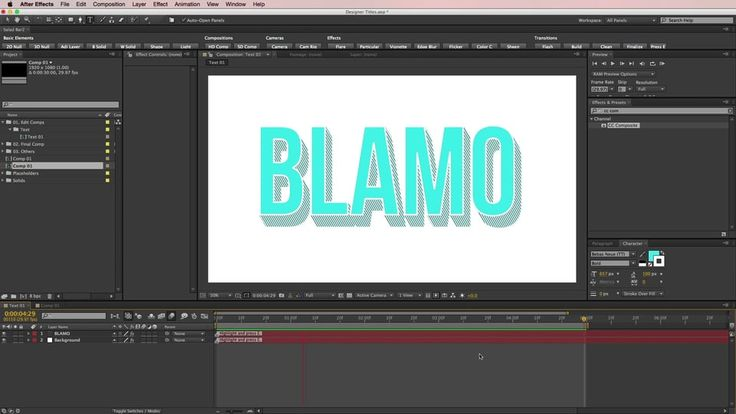 Long Shadow After Effects Tutorial on Vimeo