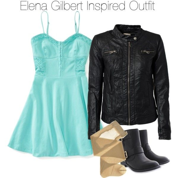 The Vampire Diaries - Elena Gilbert Inspired Outfit