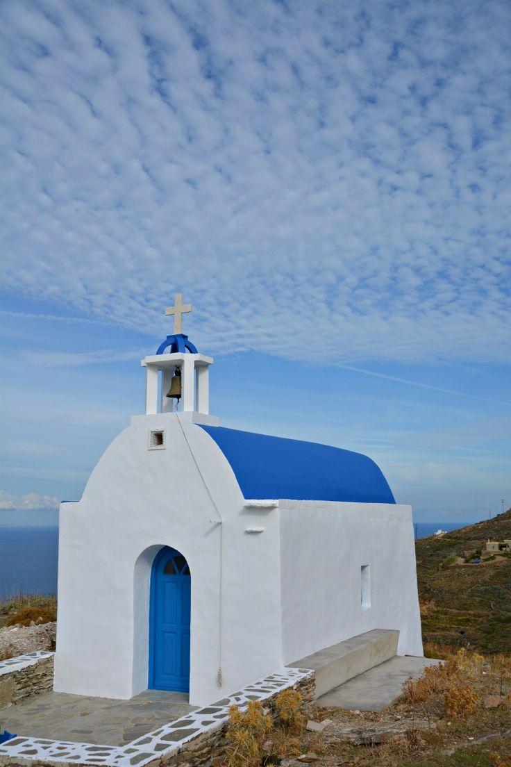 A church on Serifos island, Greece.