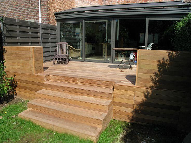 Terrasse en bois Fixations visseries invisibles HAPAX  Terrasse en bois HAP