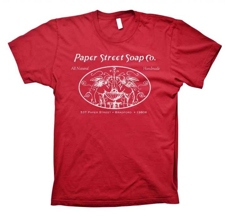 """Paper Street Soap Company """"All Natural, Hand Made"""" Fight Club - Tyler Durden T-shirt"""