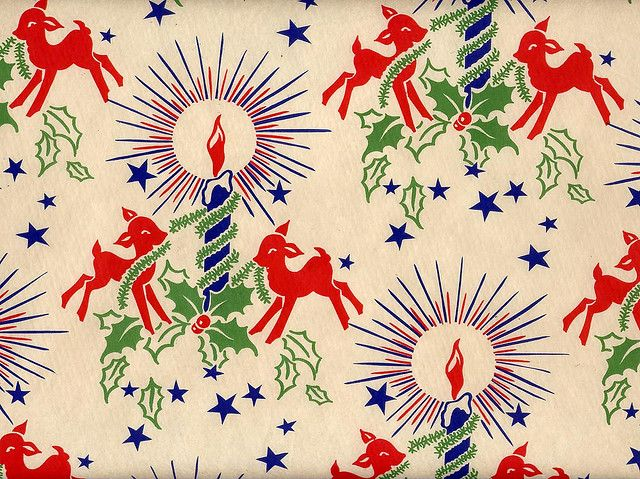 Best 25 vintage christmas wrapping paper ideas on for Best christmas wrapping paper