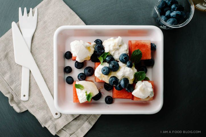 watermelon burrata salad recipe - www.iamafoodblog.com-Sounds interesting. I love watermelon and feta..so.....