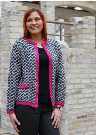 Strik en jakke, der både er smuk og luner godt