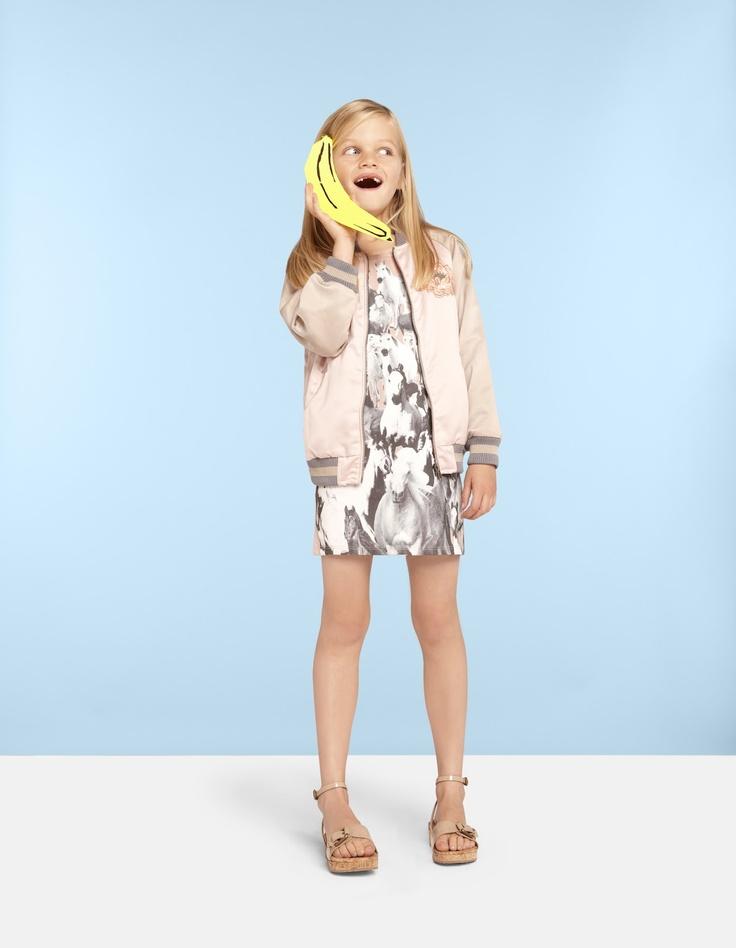 loving the letterman jacket trend.  Stella McCartney Kids SS13 Kids Fashion