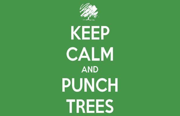 Keep Calm and Punch Trees T-Shirt http://tshirtonomy.com/minecraft-t-shirts
