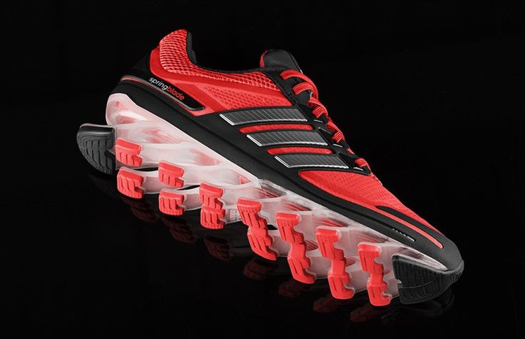Springblade: tênis de corrida da Adidas emprega lâminas no solado